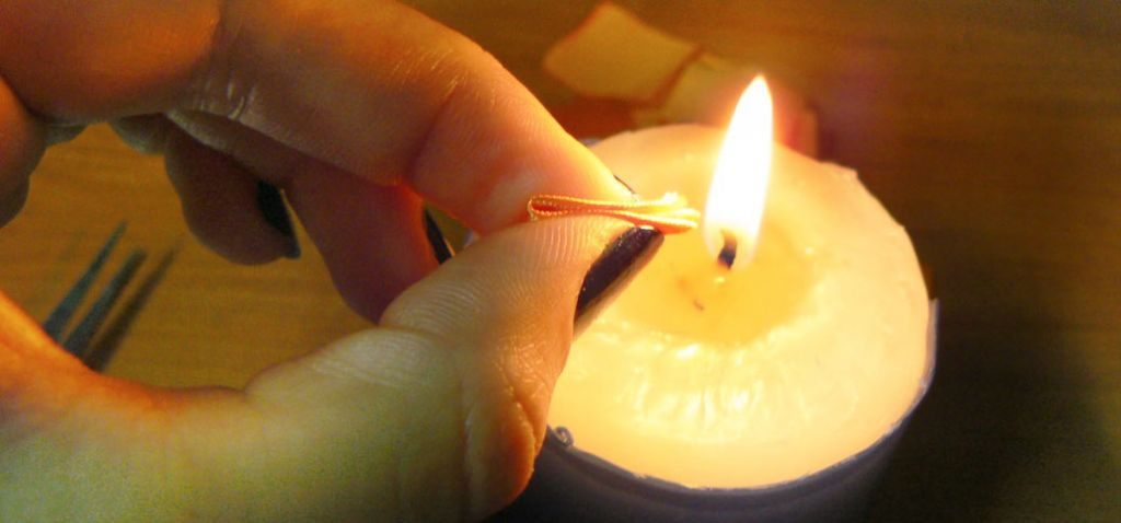 Kanzashi dahlia handmade flower diy tutorial 5
