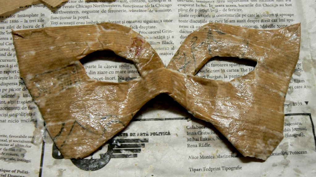 Tutorial masca venetiana carnaval bal mascat 11
