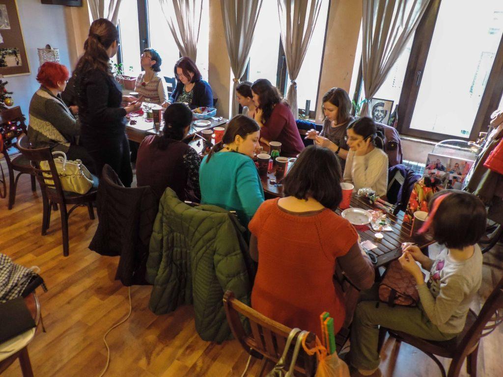 Atelier flori kanzashi de craciun 23