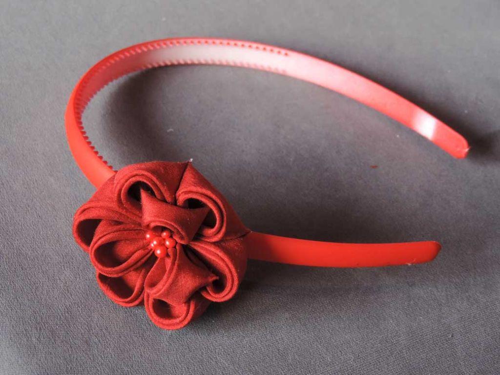 Tutorial bujori - flori kanzashi - pasul-18
