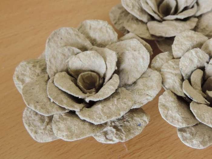 Tutorial trandafir carton