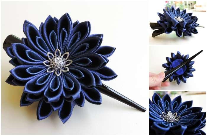 Crizantema bleumarin