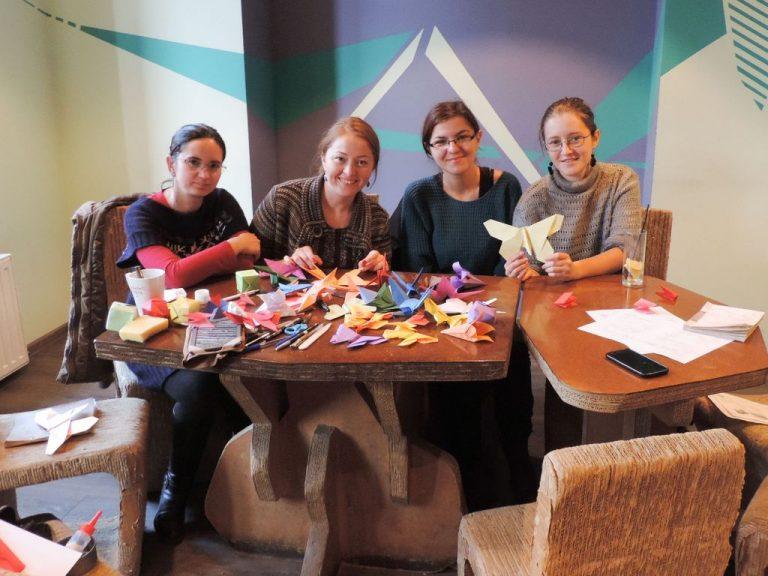 Atelier origami 15 noiembrie 2014