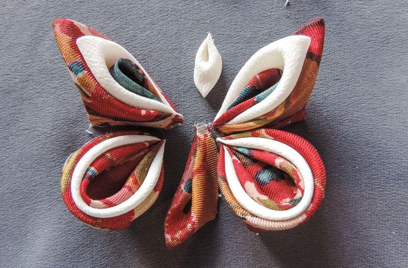 Silk butterfly tutorial 11