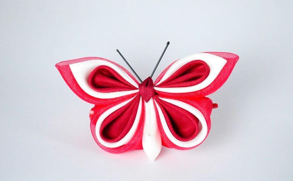 fluturi curcubeu rosu