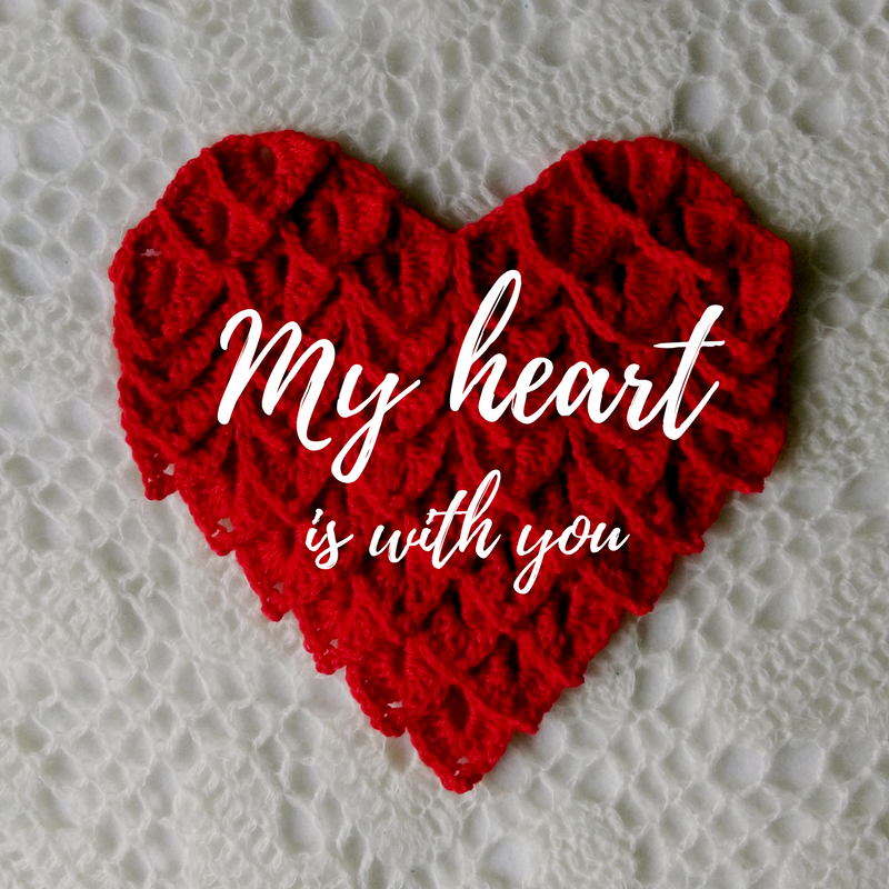 my heart is with you