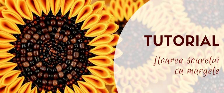 Tutorial floarea soarelui cu margele