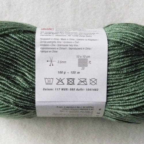 Green yarn for the summer top