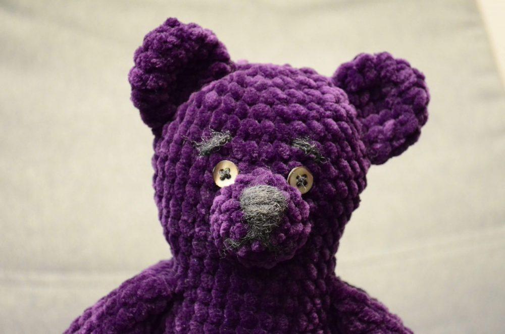 Big teddy chenille amigurumi free crochet pattern 3