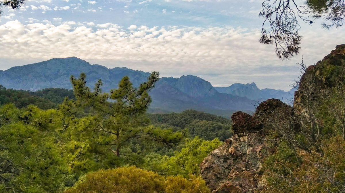 Kemer mountain ranges